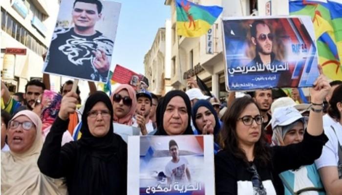 المغرب.. عائلات معتقلي حراك الريف يضربون عن الطعام