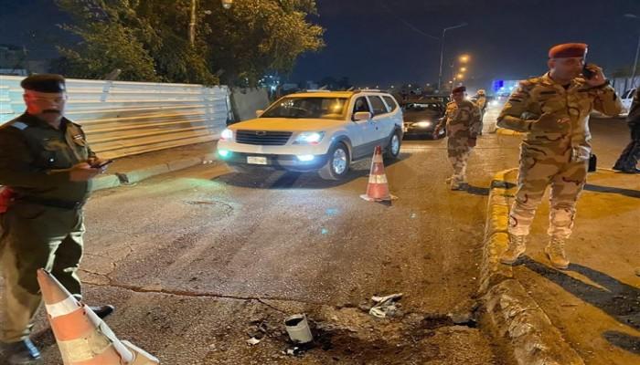 سقوط 3 صواريخ كاتيوشا على المنطقة الخضراء ببغداد