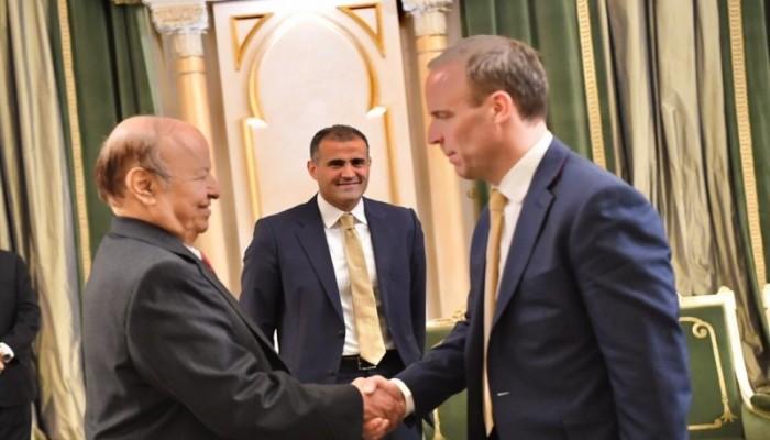 وزير خارجية بريطانيا يأمل خفض تصعيد حرب اليمن خلال 2020