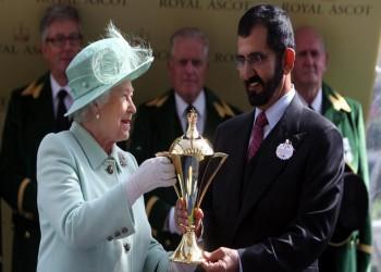 الملكة إليزابيث تتجنب حاكم دبي بعد إدانته بخطف ابنتيه