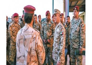 تمرين الحارس المنيع العسكري ينطلق بالدوحة