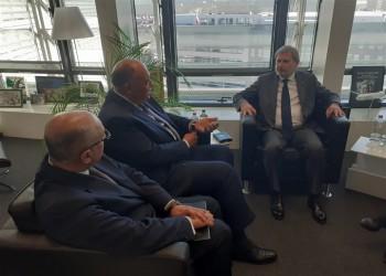 مصر تدعو الاتحاد الأوروبي لحث إثيوبيا على توقيع اتفاق سد النهضة