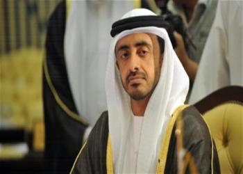 الإمارات تؤكد تضامنها مع إيران في مكافحة كورونا