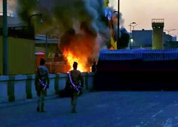 إصابة 3 مدنيين إثر هجوم صاروخي قرب سفارة واشنطن في بغداد