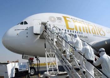 طيران الإمارات تعلق جميع رحلات نقل الركاب بسبب تداعيات كورونا