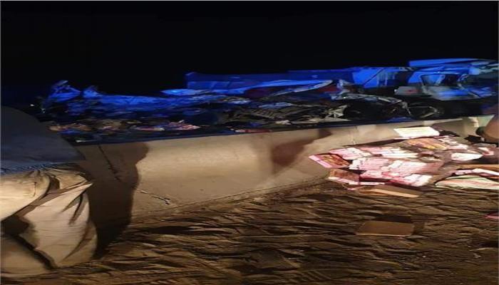 مصر.. مصرع 22 في حادث تصادم بسبب حظر التجوال