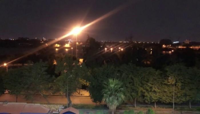 مجددا.. سقوط صواريخ بالقرب من السفارة الأمريكية ببغداد