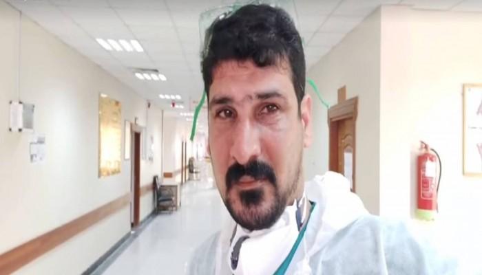 ممرض عراقي باكيا: الزموا منازلكم لا نستطيع أن نضحي بمزيد من الأرواح