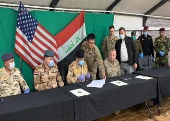 التحالف الدولي يسلم قاعدة القيارة العسكرية إلى السلطات العراقية