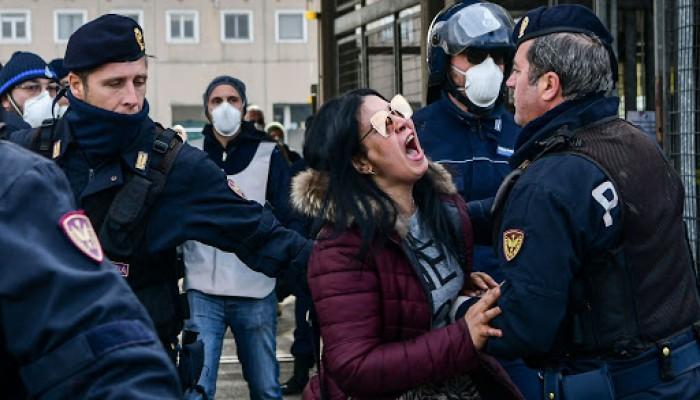 إيطاليا تسجل 662 وفاة بكورونا في يوم واحد.. والإجمالي 8165