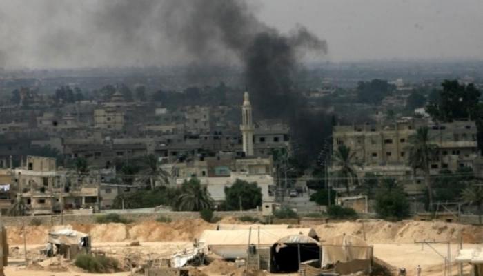 مقتل وإصابة 5 عسكريين في هجوم برفح المصرية