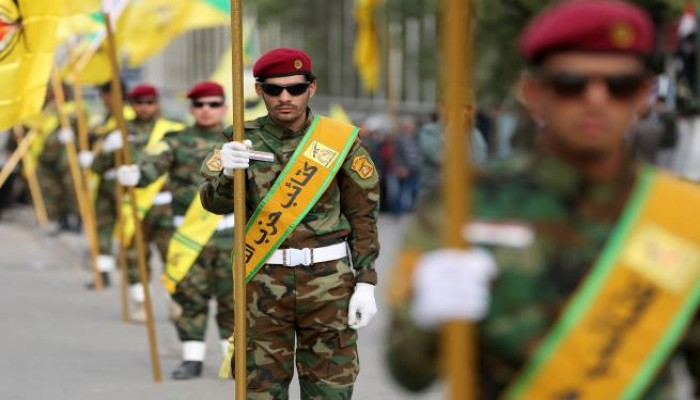 مناورات بالذخيرة الحية لكتائب حزب الله العراقية