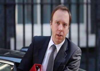 بعد جونسون.. إصابة وزير الصحة البريطاني بكورونا (شاهد)