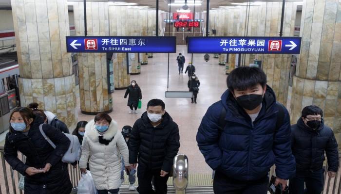 الصين تسجل 3 وفيات و 54 إصابة بكورونا في 24 ساعة