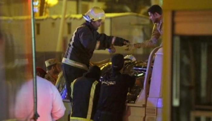 السعودية تعترف بإصابة مدنيين بصواريخ الحوثي على الرياض