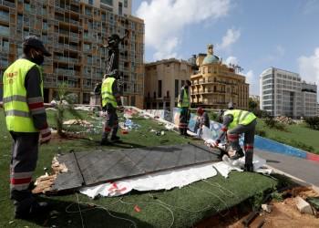 إخلاء ساحة المتظاهرين بلبنان.. وناشطون: الثورة ليست خيمة