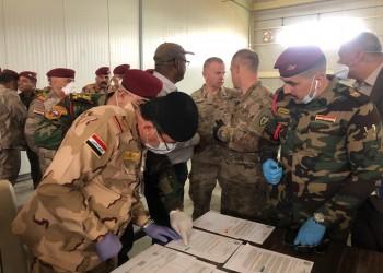 التحالف الدولي يسلم قاعدة كي وان في كركوك للقوات العراقية