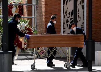 ارتفاع الوفيات في إسبانيا إلى 7340 حالة