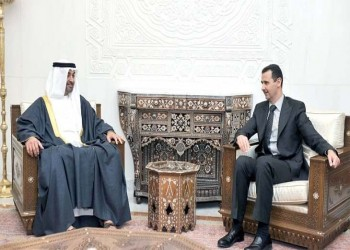 بن زايد والأسد: سجون وبراميل «التضامن الإنساني»