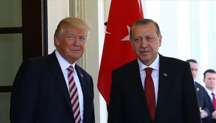 أردوغان وترامب يتفقان على العمل المشترك ضد كورونا