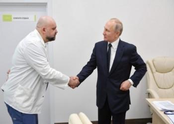 بوتين يعمل عن بعد عقب لقائه طبيبا مصابا بكورونا