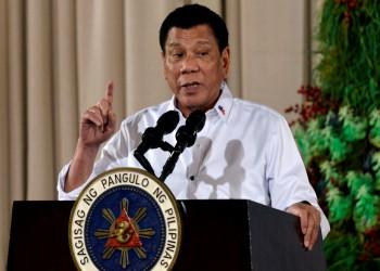 الرئيس الفلبيني يهدد بإطلاق النار على من يخرق الحجر الصحي
