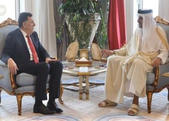 أمير قطر والسراج يبحثان القضية الليبية وأزمة كورونا