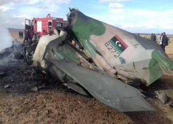 الوفاق تعلن إسقاط 3 طائرات حربية تابعة لحفتر