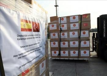 هل صادرت تركيا معدات طبية متوجهة لإسبانيا؟