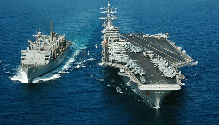 سفن أمريكية تعبر مضيق هرمز باتجاه الخليج