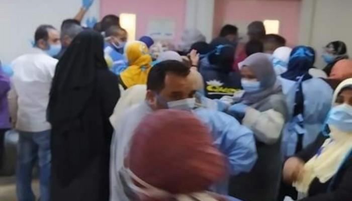 فوضى داخل معهد الأورام بمصر لإجراء تحليل كورونا