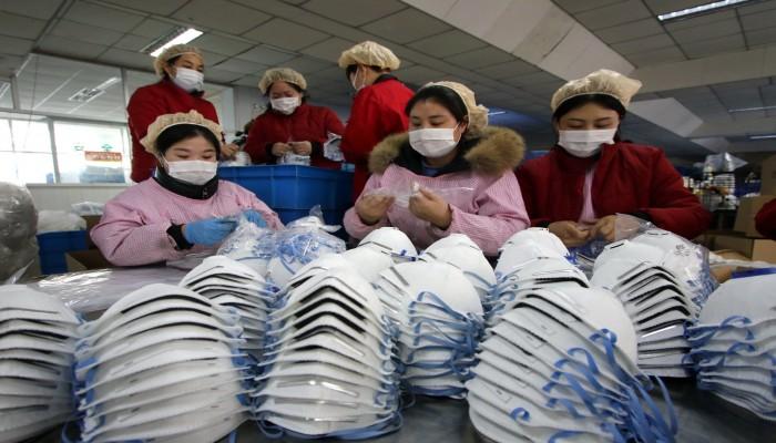 الصين باعت نحو 4 مليارات قناع منذ بداية مارس