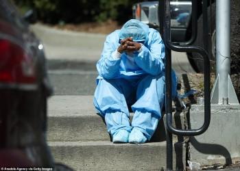صور مؤلمة لجثث ضحايا كورونا في نيويورك