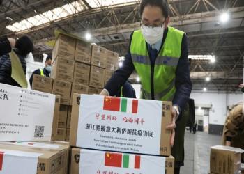 تبرعت بها روما لبكين..الصين تجبر إيطاليا على شراء مستلزمات لمكافحة كورونا
