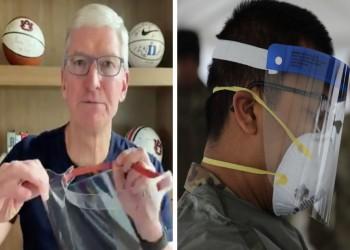 أبل تستغل مصانعها لإنتاج واقيات الوجه للأطباء الذين يكافحون كورونا