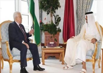 الرئيس الفلسطيني يشكر أمير قطر على دعم بلاده بأزمة كورونا