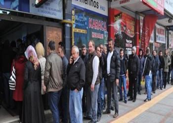 ارتفاع معدل البطالة في تركيا إلى 13.8%
