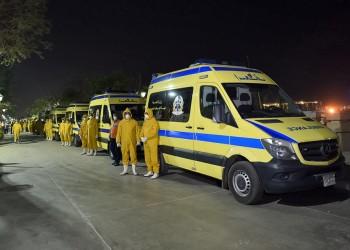 مصر تعزل منطقة جديدة  بعد وفاة حالتين وإصابة العشرات بكورونا