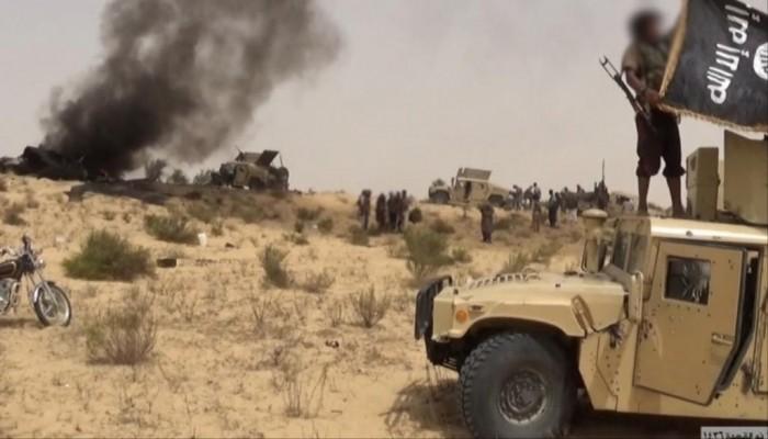 اشتباكات بين الجيش المصري وولاية سيناء في رفح