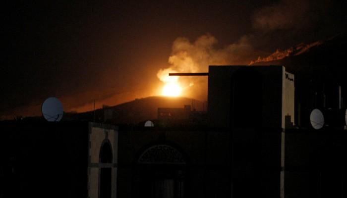اليمن.. غارات جوية للتحالف العربي على صنعاء وضواحيها