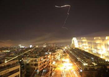 قوات الأسد تتصدى لقصف إسرائيلي بحمص السورية