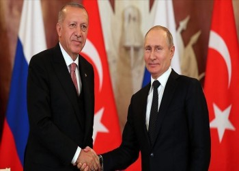 هاتفيا.. أردوغان وبوتين يبحثان تطورات سوريا ومستجدات كورونا