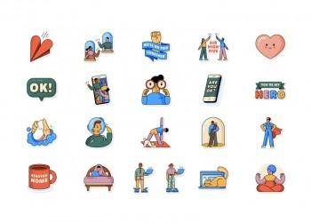 واتس آب يطلق ملصقات مرتبطة بكورونا للتعبير عن المشاعر