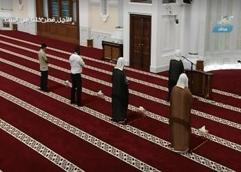 أكبر مساجد الدوحة يحيي أول صلاة تراويح