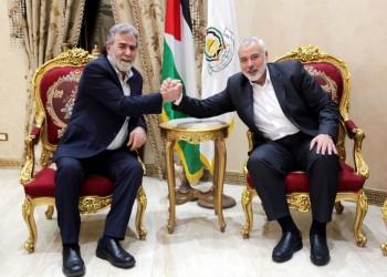 حماس والجهاد تبحثان تداعيات تشكيل حكومة الاحتلال الجديدة
