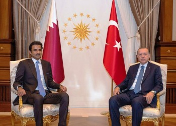 اتصال جديد بين أمير قطر وأردوغان لبحث أزمة كورونا