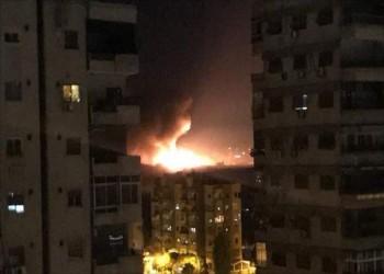 قصف إسرائيلي جديد لمواقع عسكرية جنوبي سوريا
