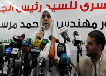 نجلة مرسي: لا يتنازل عن القدس إلا قواد