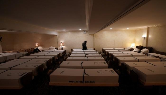 اكتشاف 1700 وفاة بكورونا في دور المسنين بنيويورك