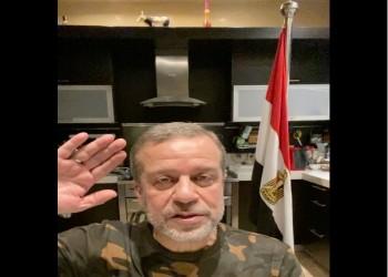 فنان مصري يمجد في الجيش بفيديو من مطبخ منزله